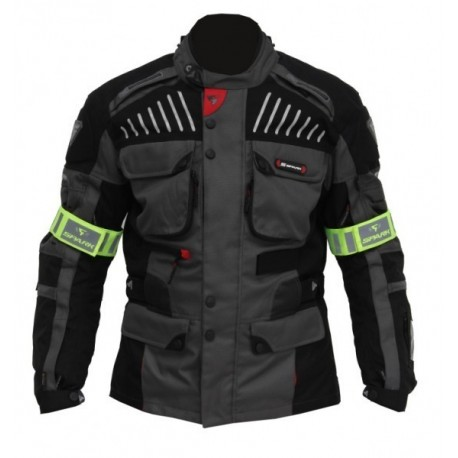 Pánská textilní bunda Spark GT Turismo, tmavá