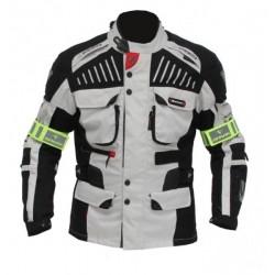 Pánská textilní bunda Spark GT Turismo, světlá