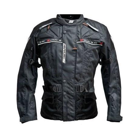 Textilní bunda Spark Dura, černá