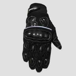 Motokrosové textilní rukavice Poledník Carbon