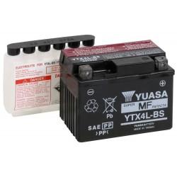 Bezúdržbová motobaterie Yuasa YTX4L-BS