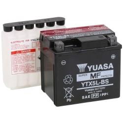 Bezúdržbová motobaterie Yuasa YTX5L-BS