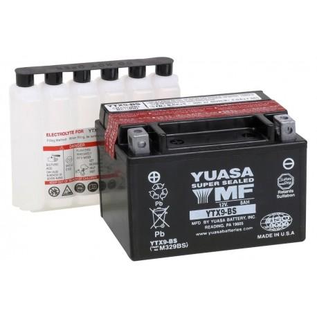 Bezúdržbová motobaterie Yuasa YTX9-BS