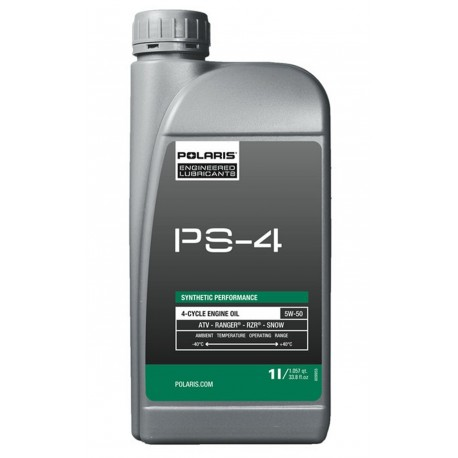 Motorový olej Polaris PS-4 Synthetic Engine Oil - 1 litr