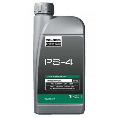 Olej Polaris PS-4 Synthetic Engine Oil - 4 kusy po 1 litru, zvýhodněné balení