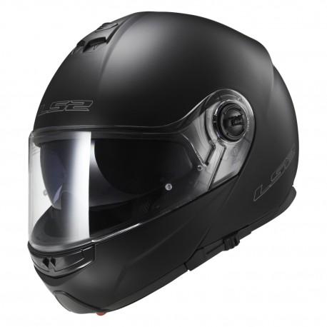 Výklopná helma LS2 Strobe, FF325, matná černá