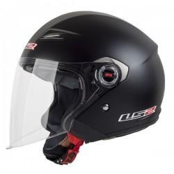 Otevřená helma LS2 Track, OF569, matná černá
