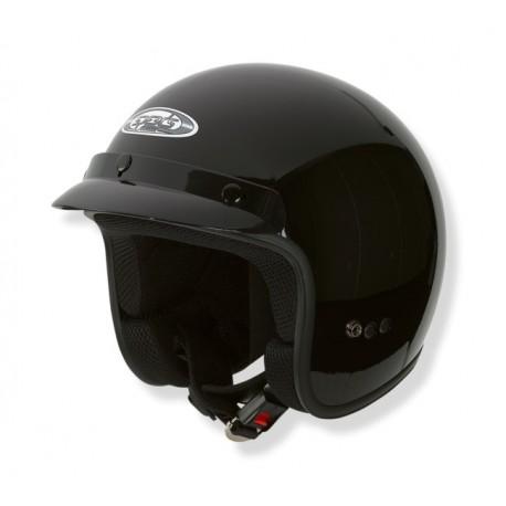 Otevřená helma Speeds Classic, lesklá černá