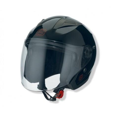 Otevřená helma Speeds City II, uni černá lesklá
