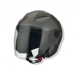 Otevřená helma Speeds City II, uni titanová lesklá