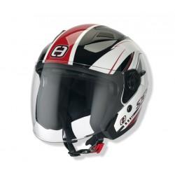 Otevřená helma Speeds City II, dekor červená lesklá