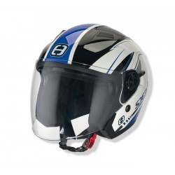 Otevřená helma Speeds City II, dekor modrá lesklá