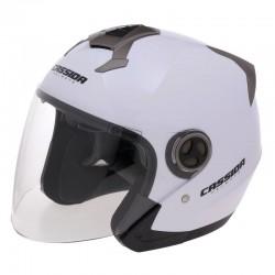 Otevřená helma Cassida Magnum, lesklá bílá