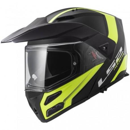 Výklopná helma LS2 Metro Evo Rapid, FF324, žluto-černá