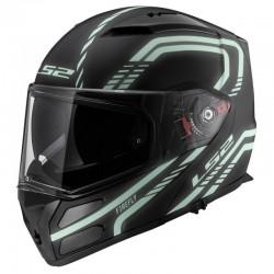 Výklopná helma LS2 Metro Firefly, FF324, matná černá