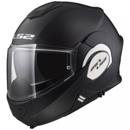 Výklopná helma LS2 Valiant, FF399, matná černá