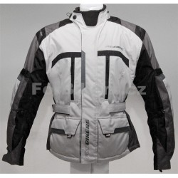 Pánská textilní bunda ForBikers Trip, šedá