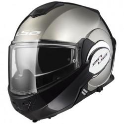 Překlápěcí helma LS2 Valiant Chrome, FF399