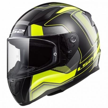 Integrální helma LS2 Rapid, FF353, černo-žlutá