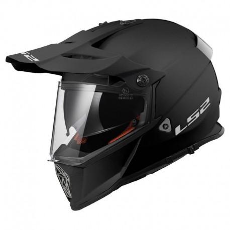 Krosová helma LS2 Pioneer, MX436, matná černá
