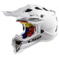 Krosová helma LS2 Subverter, MX470, bílá