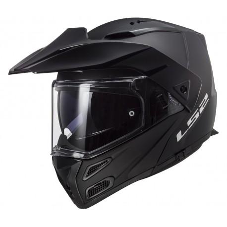 Výklopná helma LS2 Metro Evo Solid, FF324, matná černá