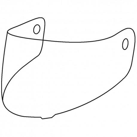 Náhradní plexi pro přilby LS2 Valiant, FF399, čiré