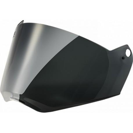 Náhradní plexi pro přilby LS2 Pioneer, MX436, tmavé