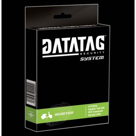 Datatag - bezpečnostní a registrační systém proti krádeži pro skútry a mopedy