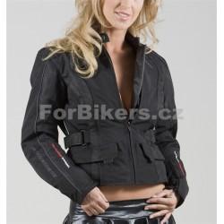 Dámská textilní bunda ForBikers Lilly 11 - černá