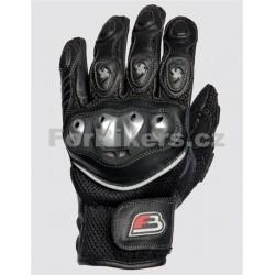Krátké sportovní textilní rukavice ForBikers Fighter