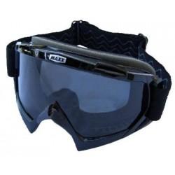 Motokrosové brýle Maxx Racing, plexi čiré + tmavé
