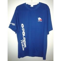 Tričko s krátkým rukávem Polaris, modré