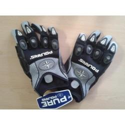 Krátké sportovní textilní rukavice Polaris Sonic Glove, šedé