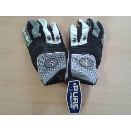 Krátké sportovní textilní rukavice Polaris Aero Glove, šedé